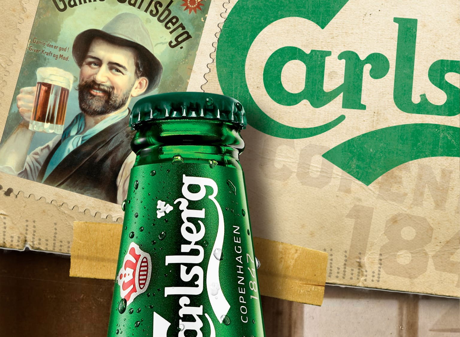 Carlsberg Heritage Poster and Localized Posters