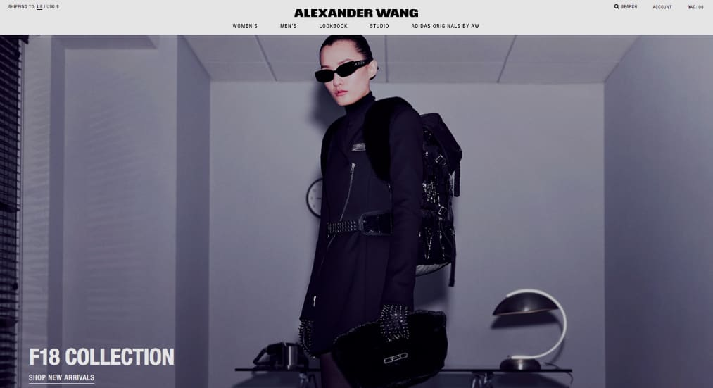 Alexander Wang F/W18 Collection Images