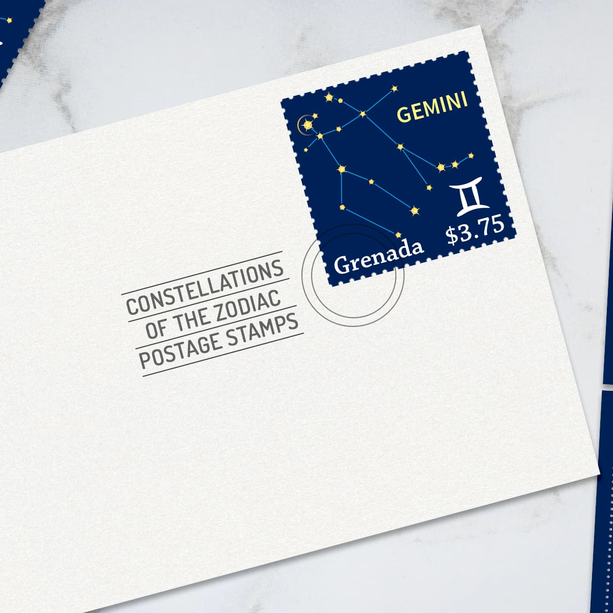 Zodiac Constellations Stamp Set