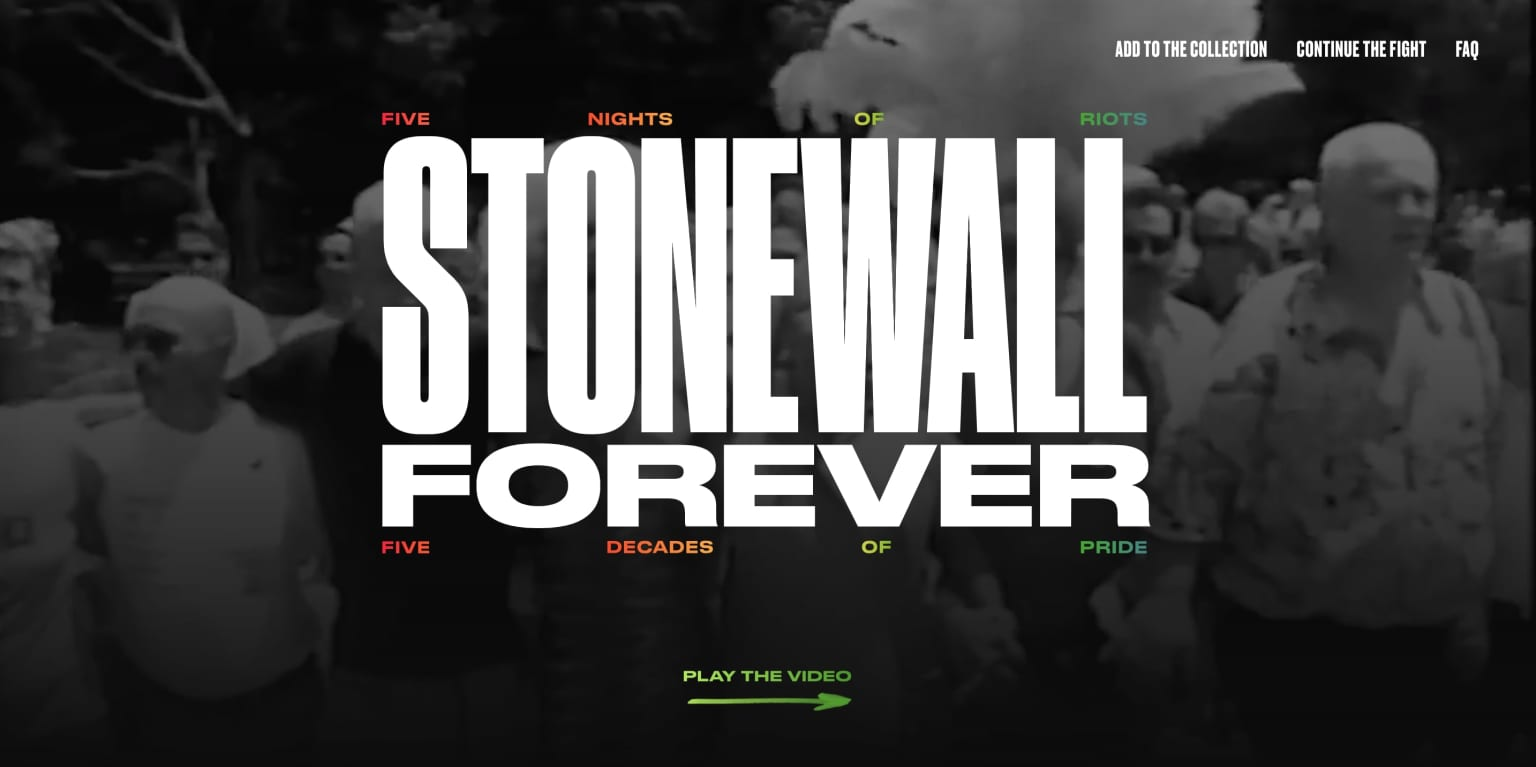 The LGBT Center: Stonewall Forever