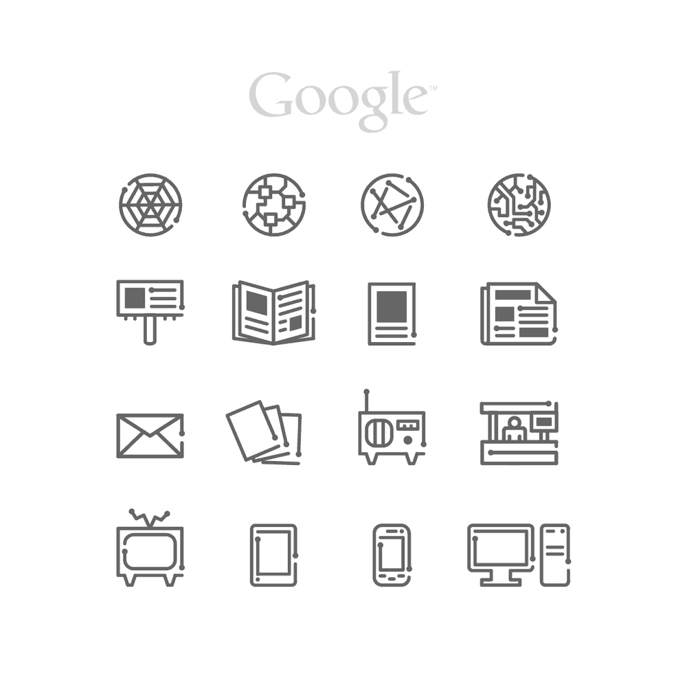 Google Business Icons