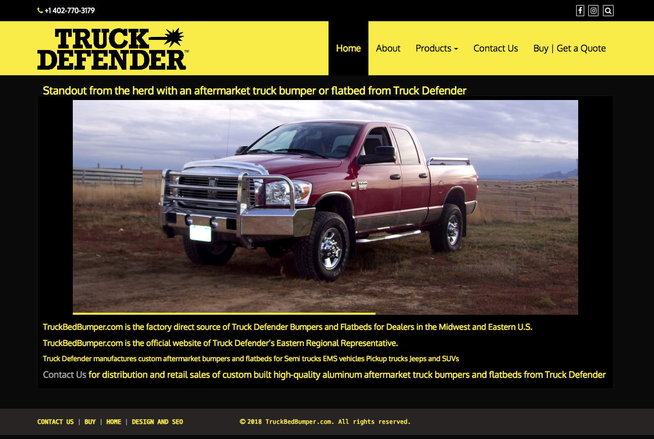 Truck Defender Eastern Region