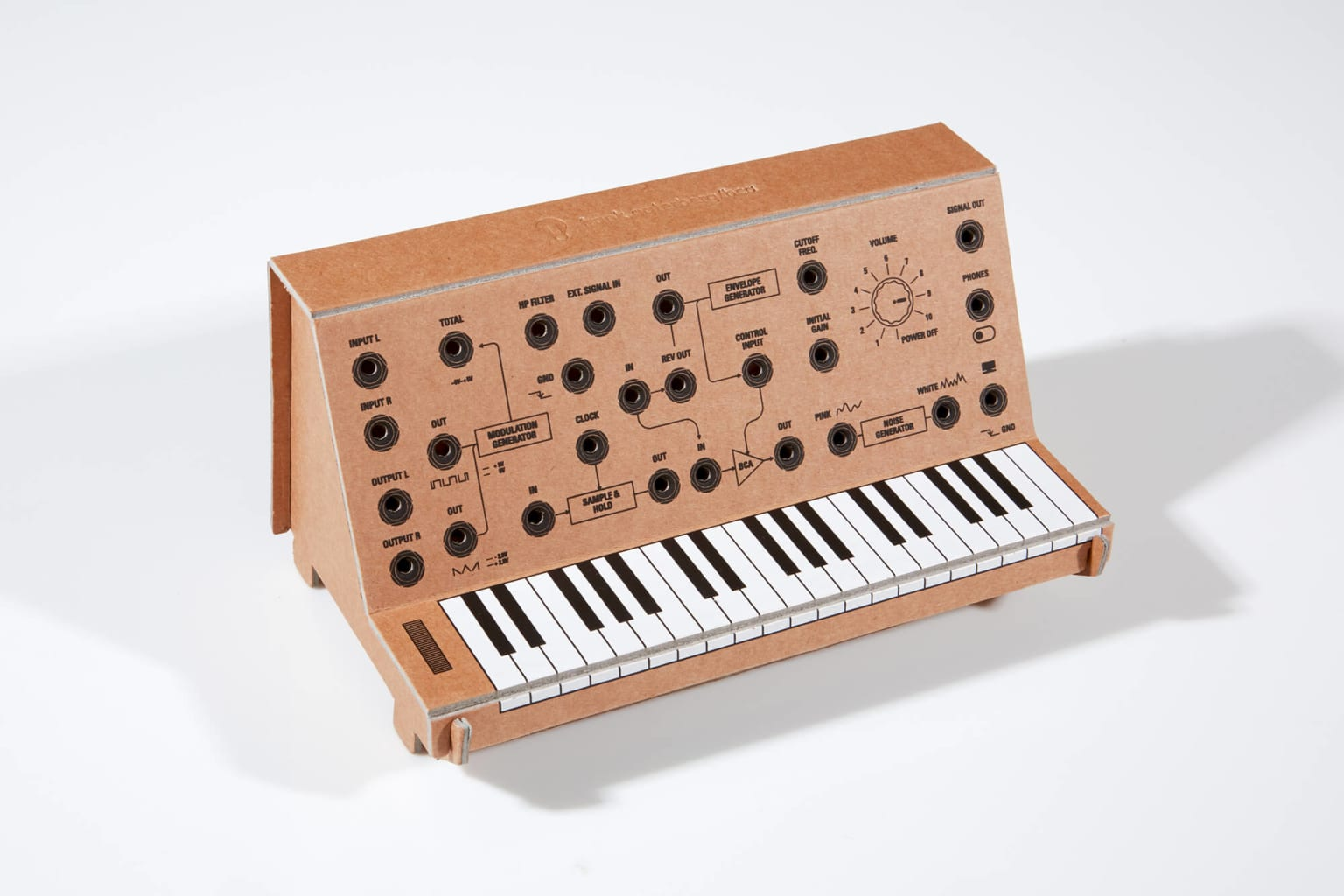 Flat Packed Synthesizer