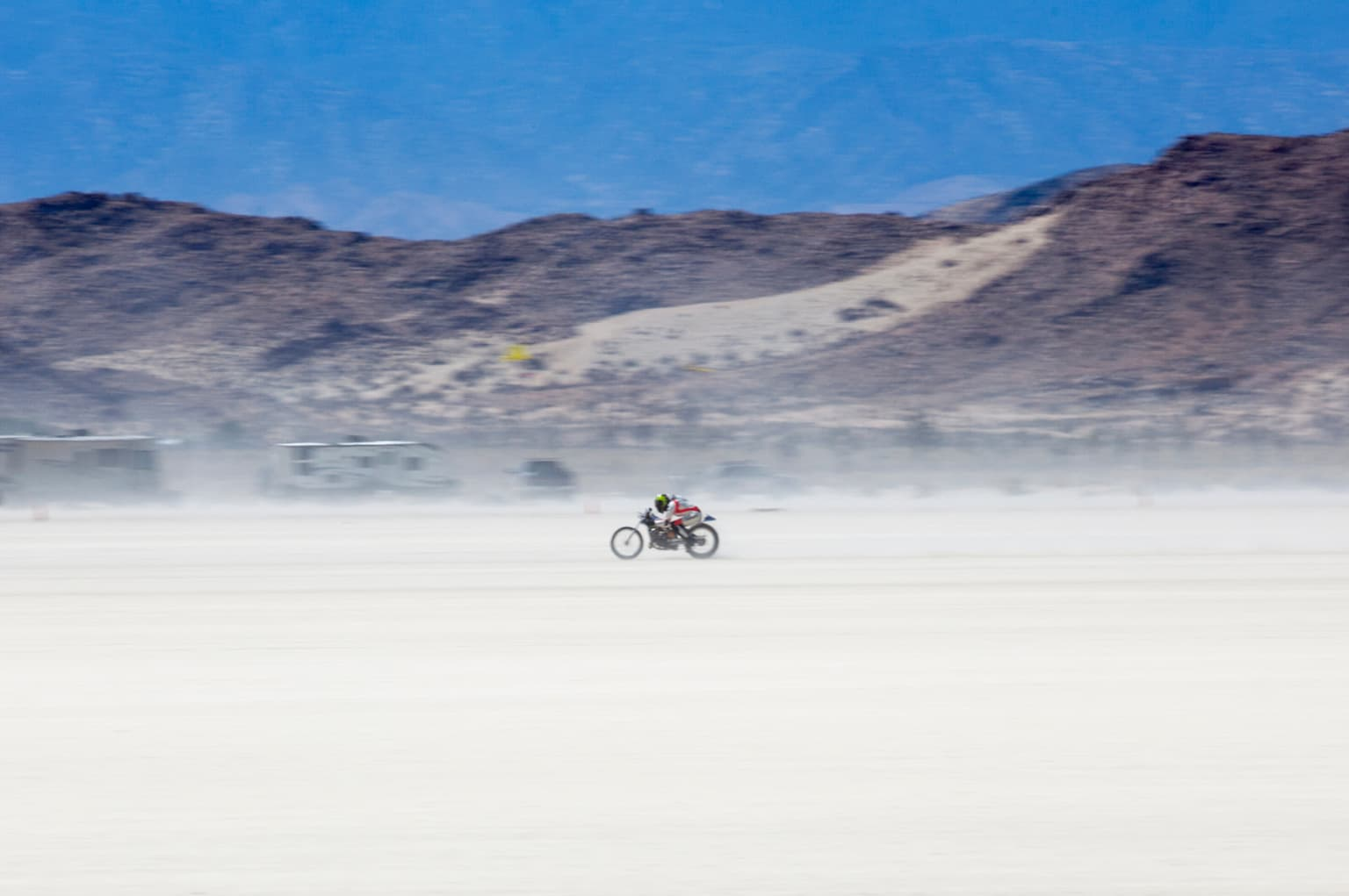 One Mile and a Cloud of Dust