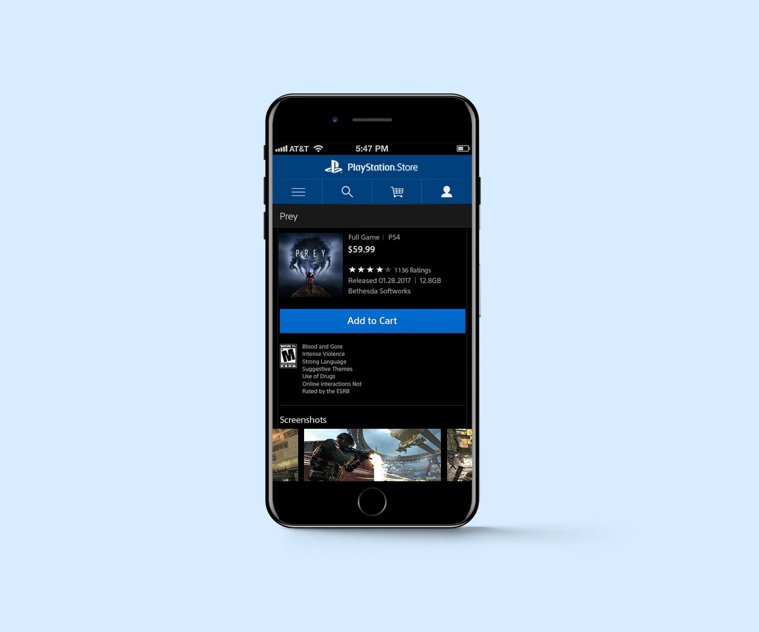 PlayStation Store - Mobile