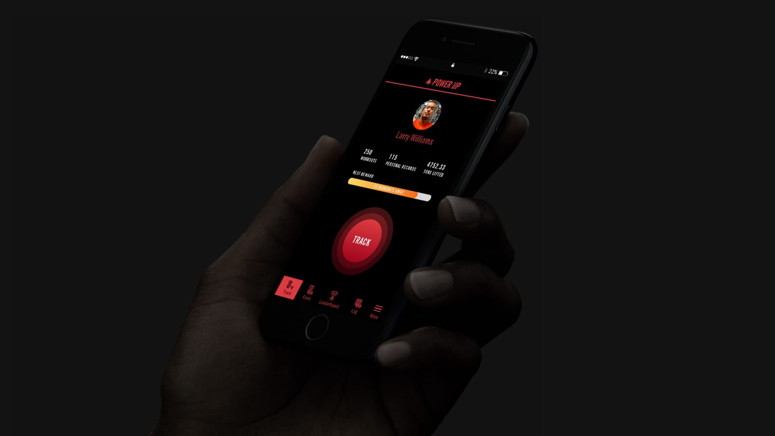 Power Up Fitness App Product Design