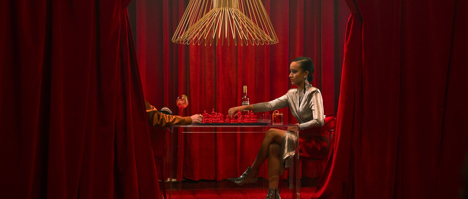 "Campari Integrated Campaign - ""Go A Sip Beyond"""
