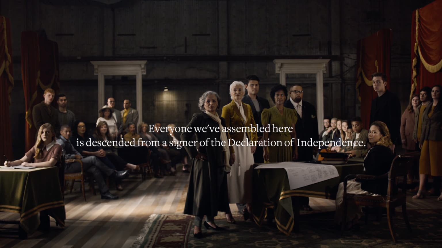 Ancestry - Declaration Descendants