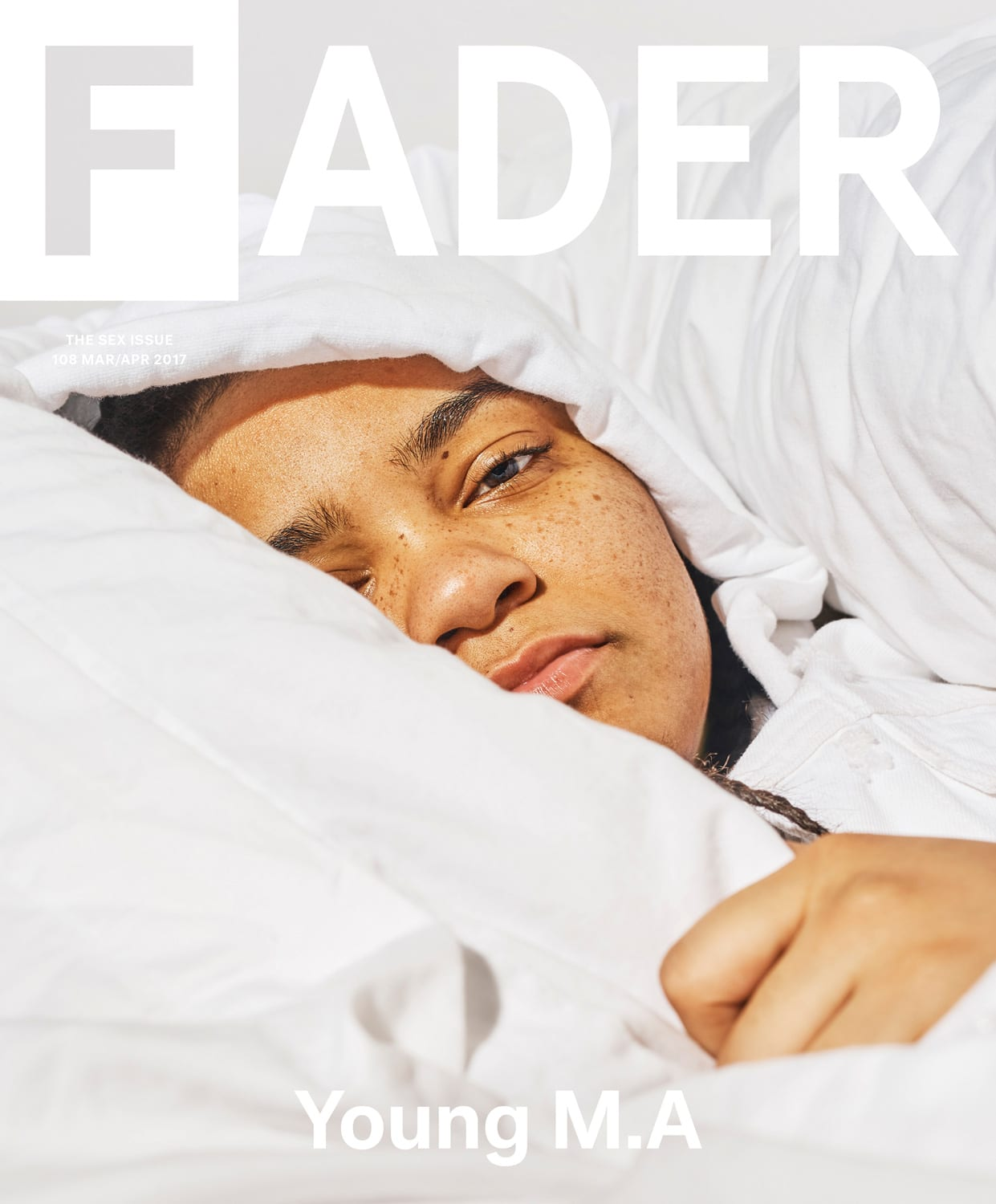 Young M.A for The FADER