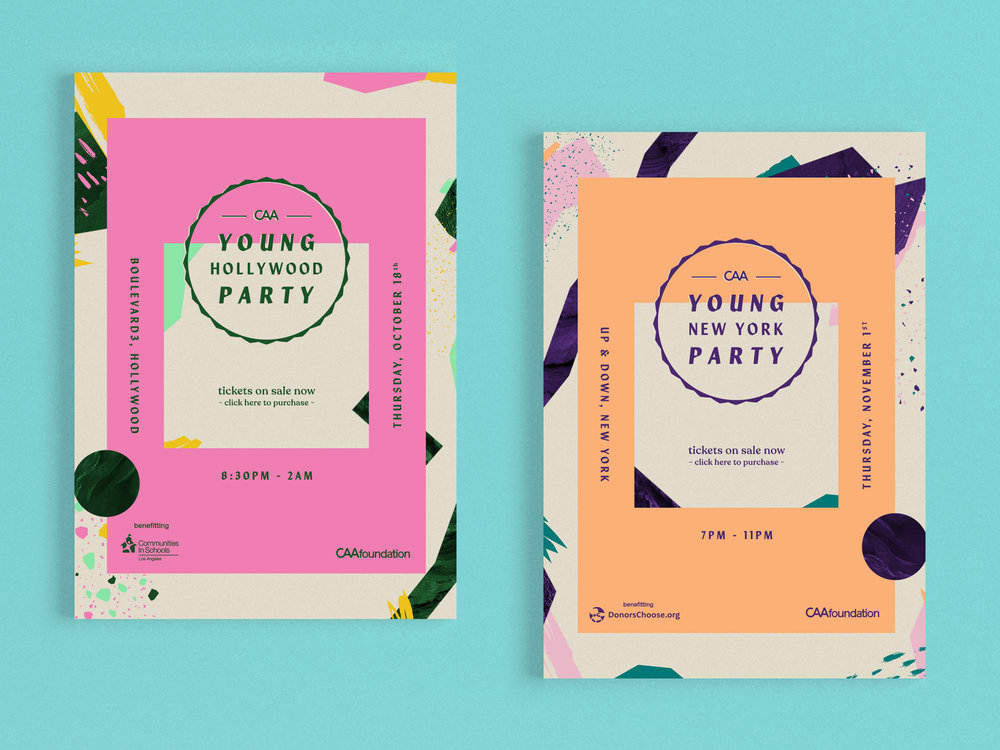 CAA YOUNG PARTIES