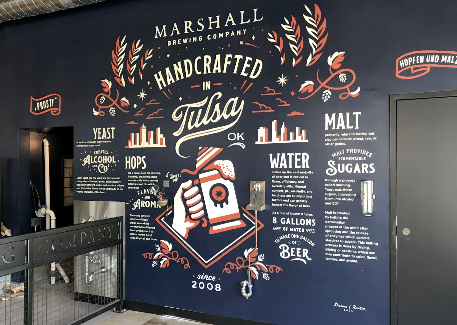 Marshall Brewing Company Tap Room