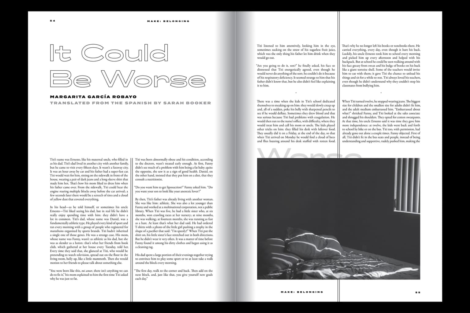 MAKE Literary Magazine