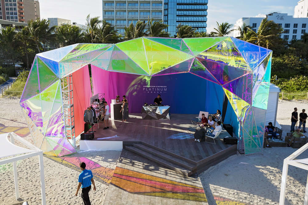 American Express Platinum House at the Miami Beach Edition
