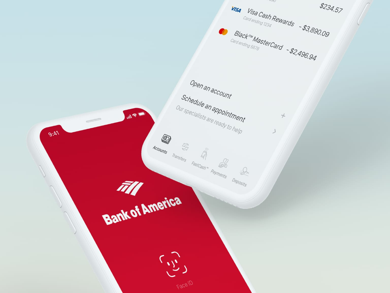 Bank of America Redesign