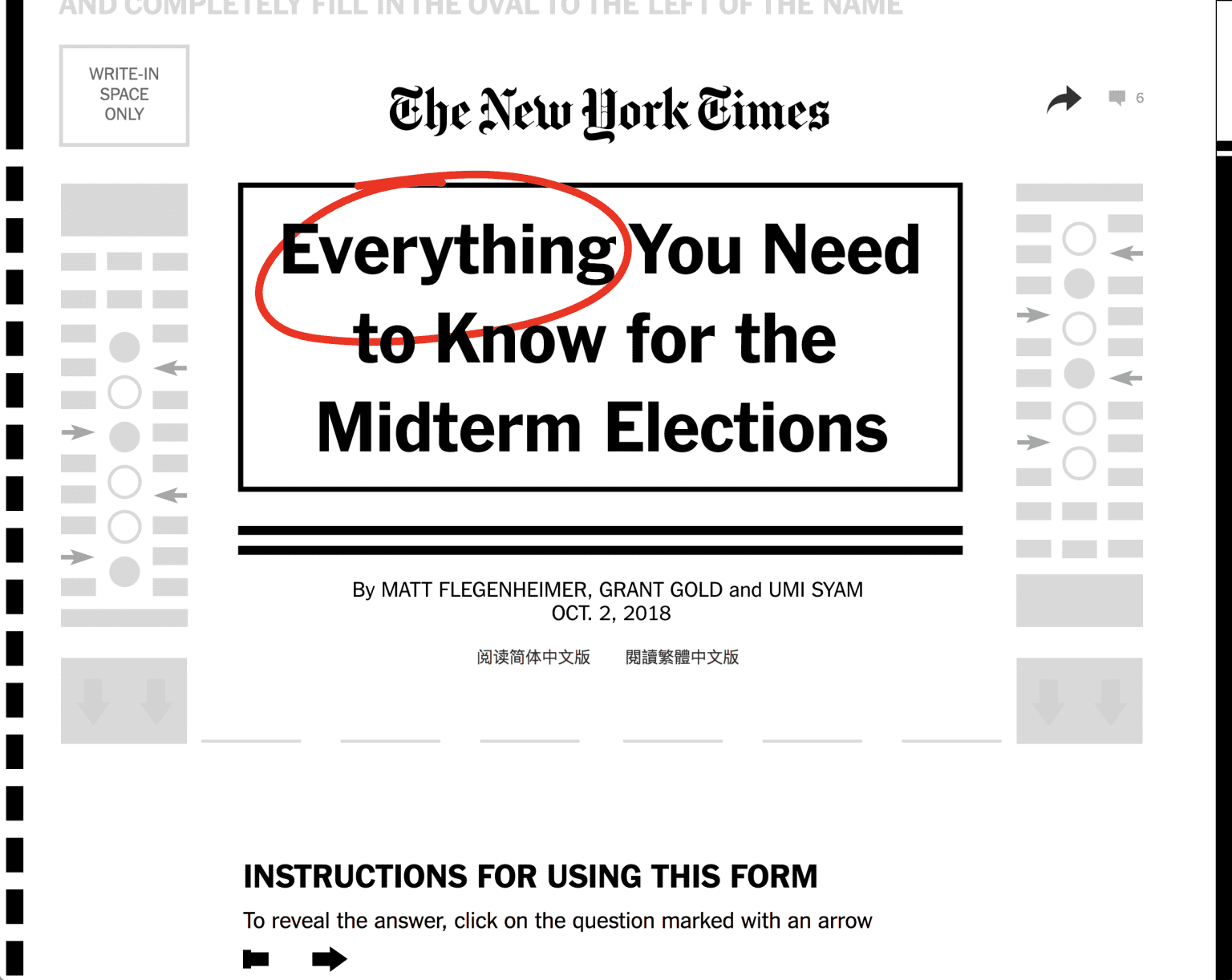 Everything You Need to Know for the Midterm Elections