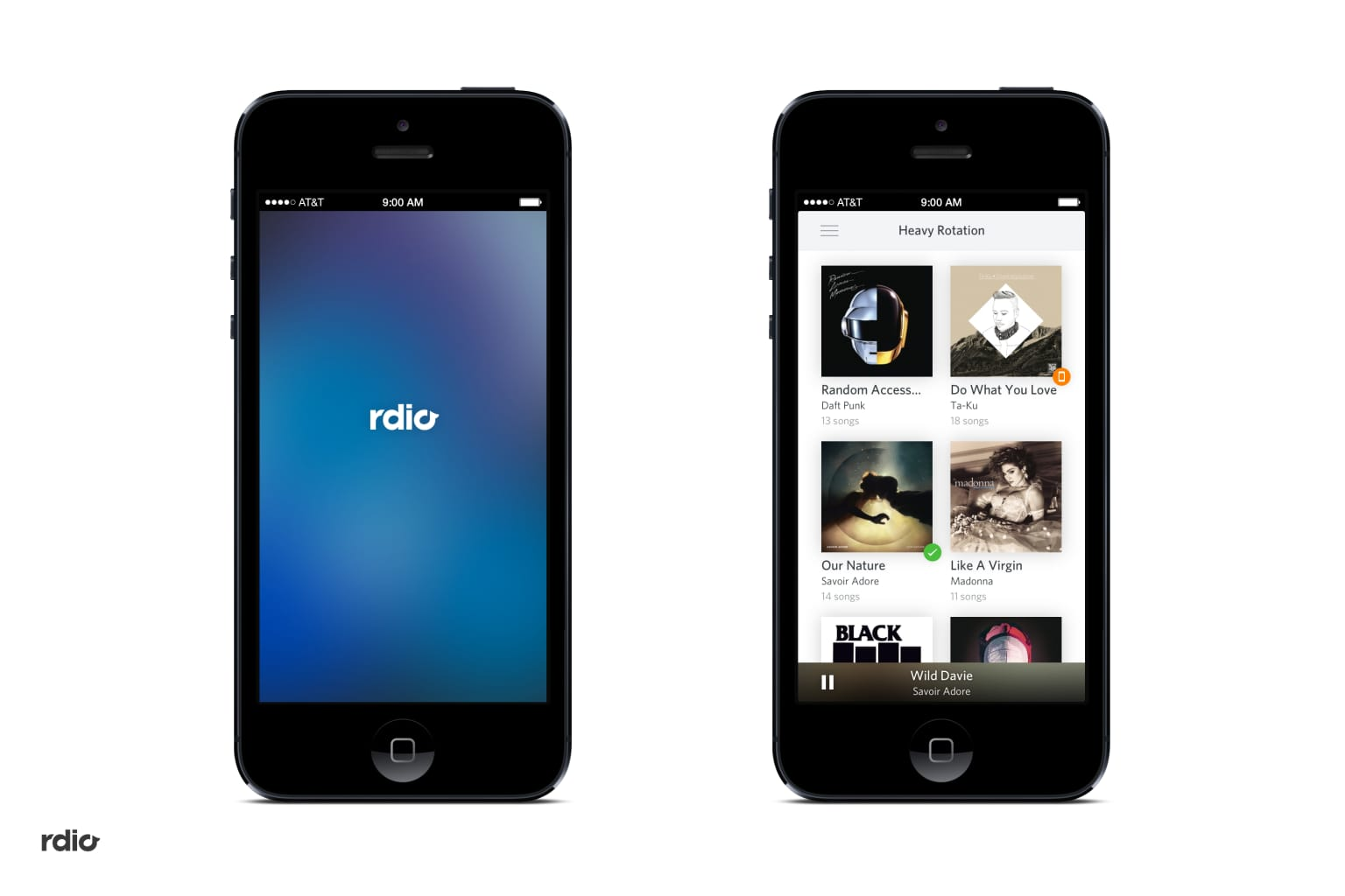 Rdio Music Streaming App