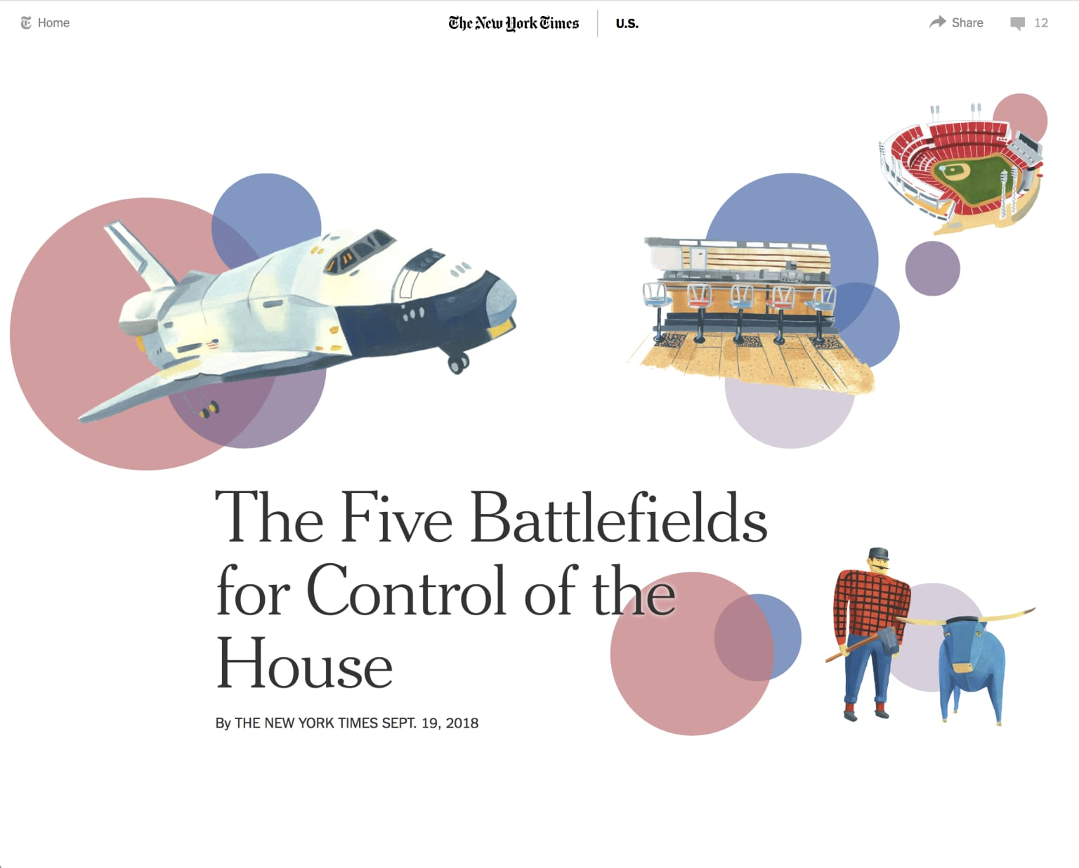 Five Battlefields for Control of the House
