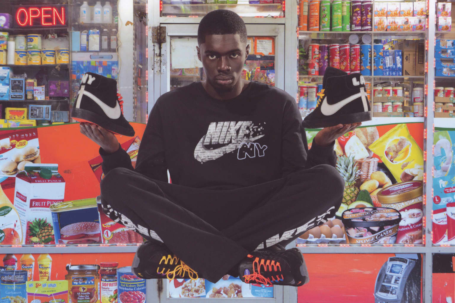 Nike NYC Editions curated by Sheck Wes