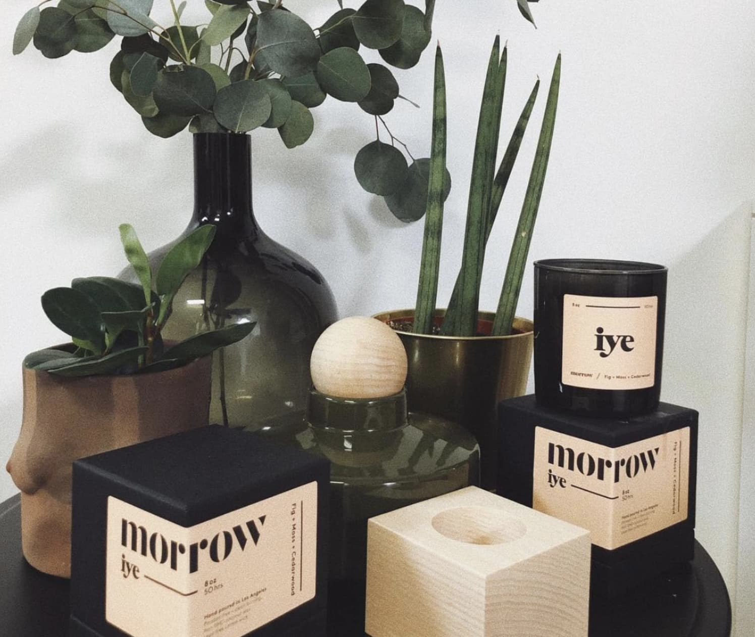 Morrow Candle Package Design