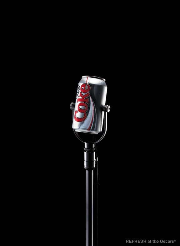 Diet Coke at the Oscars
