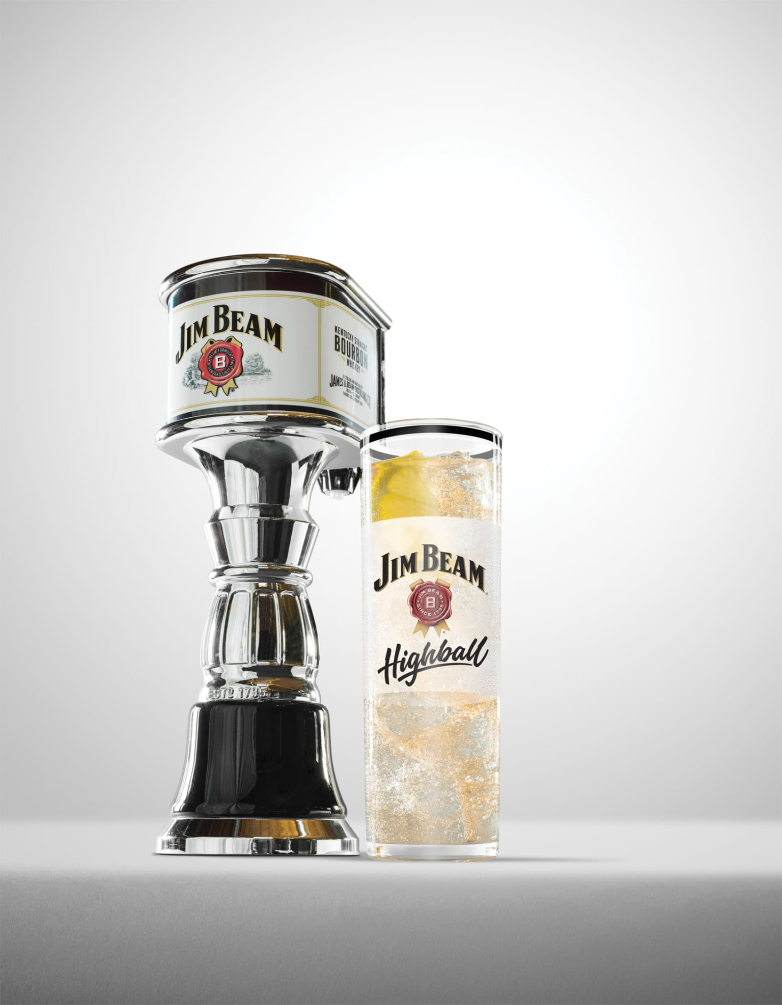 Jim Beam - Glassware Design
