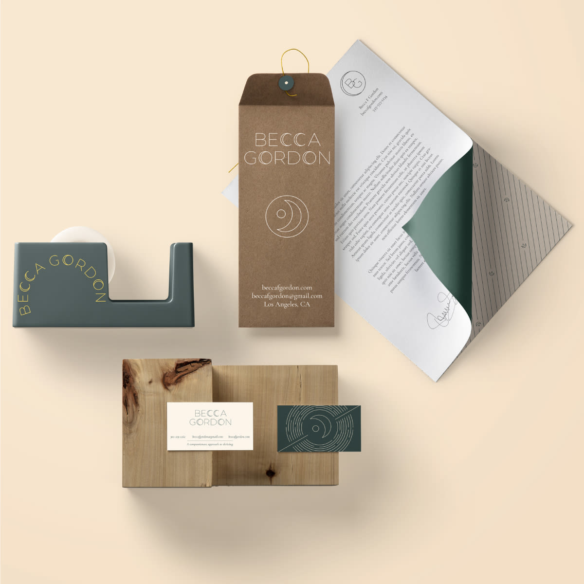 Brand Design for Becca Gordon