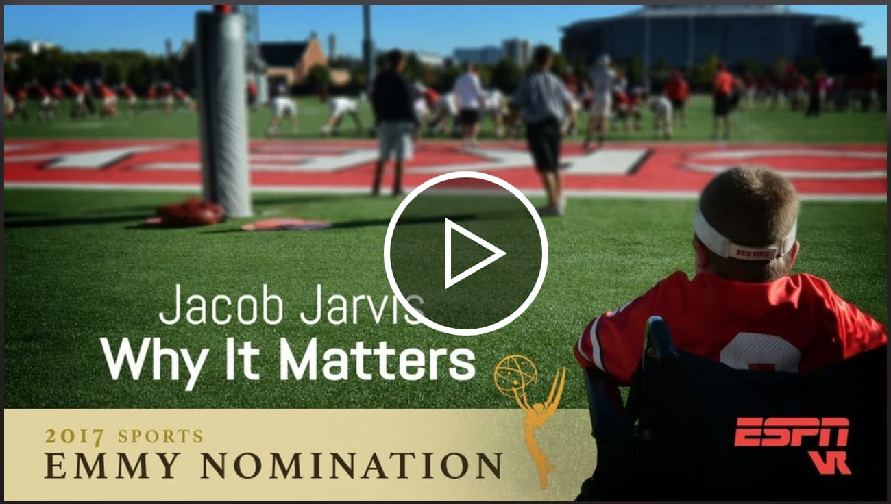 "ESPN / Jacob Jarvis ""Why it Matters"" Emmy Nomination"