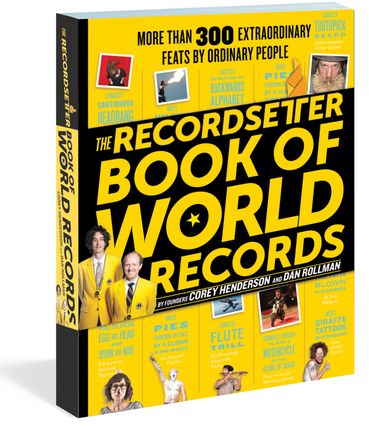 RecordSetter.com (Founder/Chief Creative Officer)