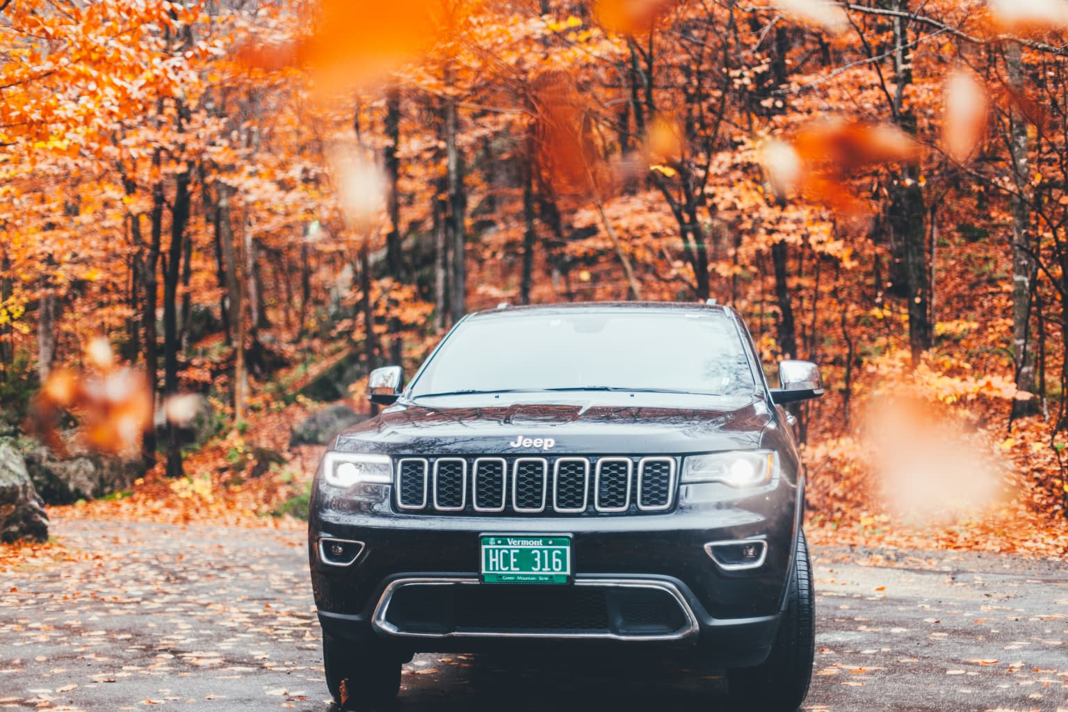 New England + Jeep