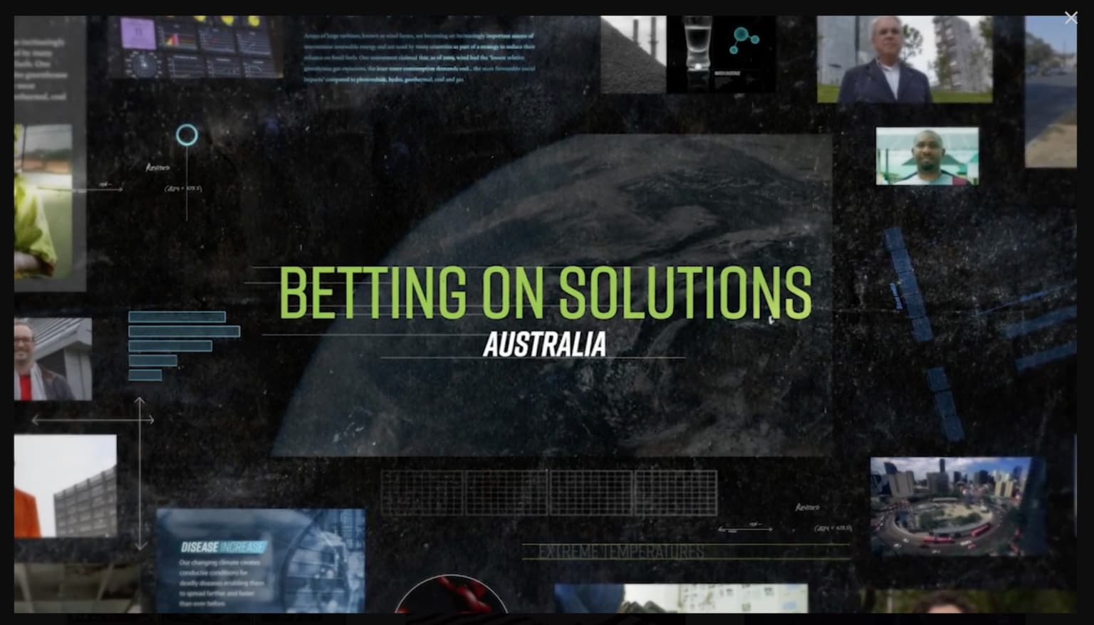 Betting on Solutions