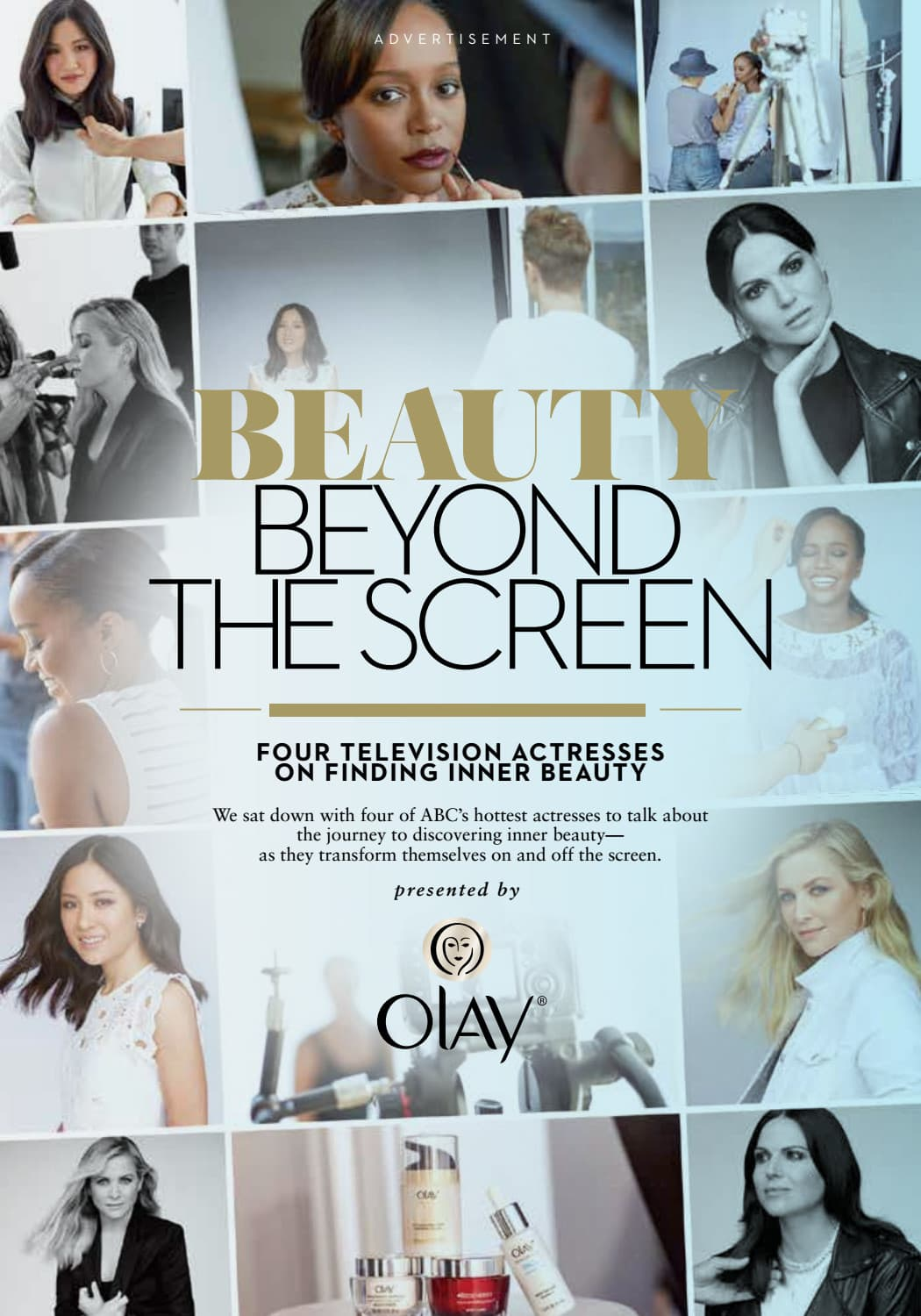 OLAY - BEAUTY BEYOND THE SCREEN