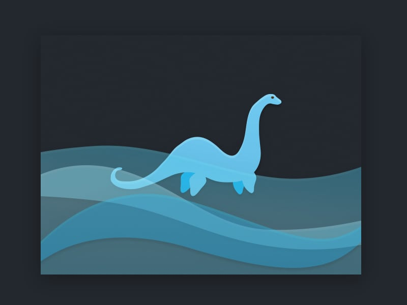 Nessie Illustration