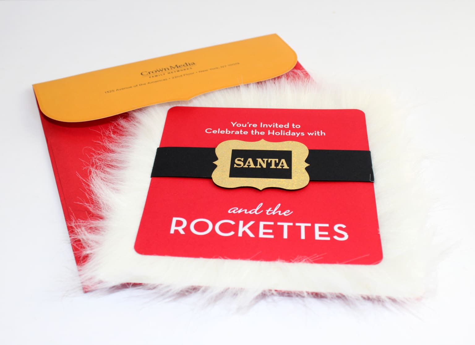 Santa & the Rockettes Invitation