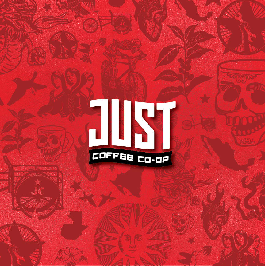 Just Coffee Co-Op Rebrand