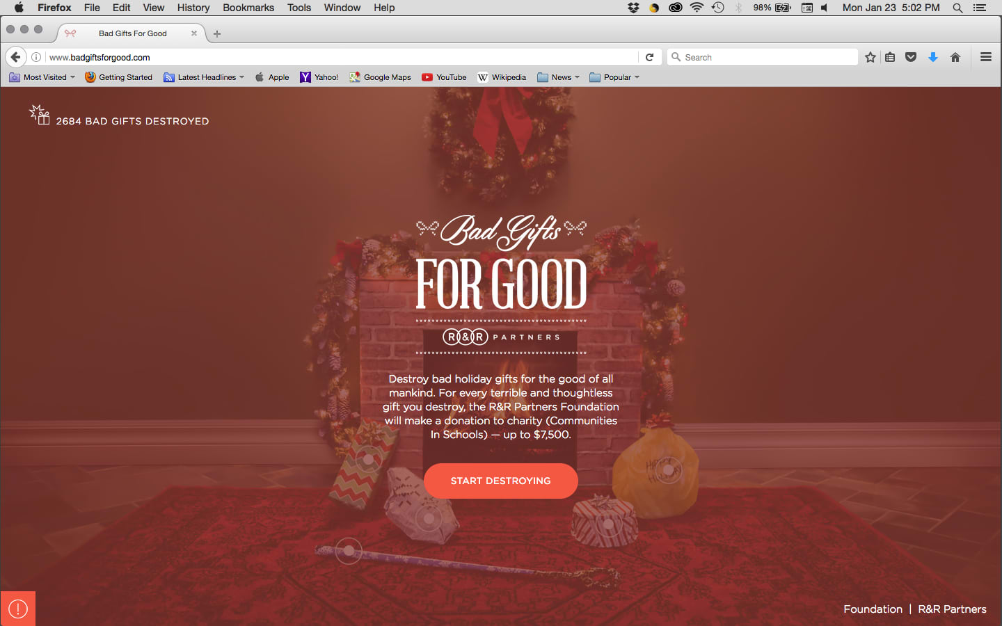 Cause Marketing––Bad Gifts For Good