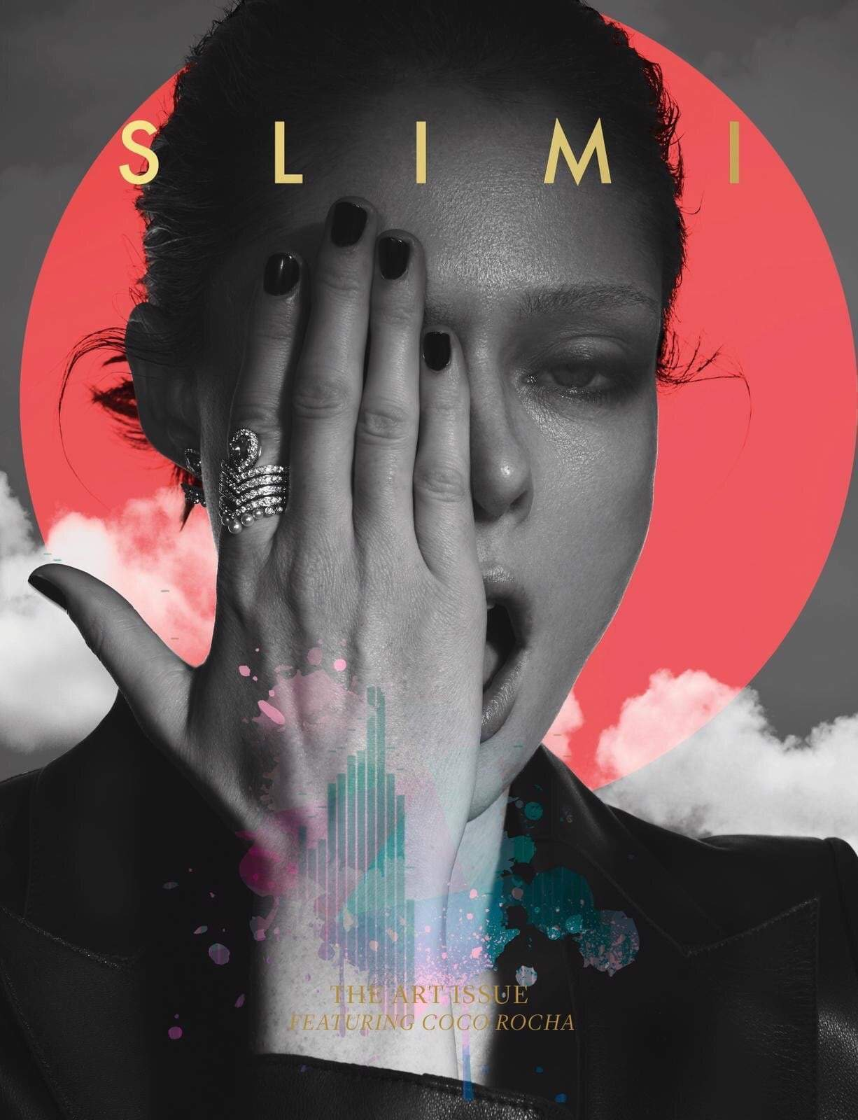 Slimi Mag the art issue