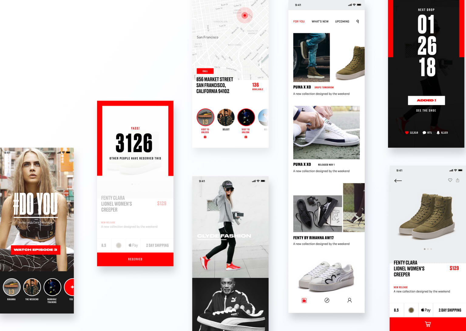Puma Native App Design
