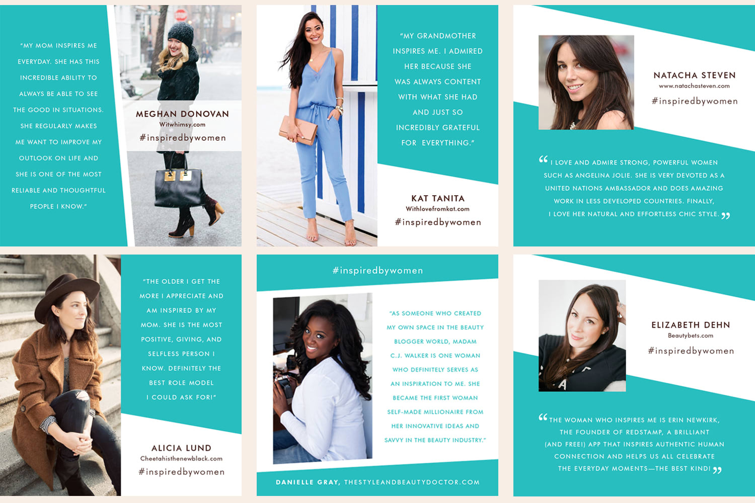 Moroccanoil Inspired by Women Advertising Campaign