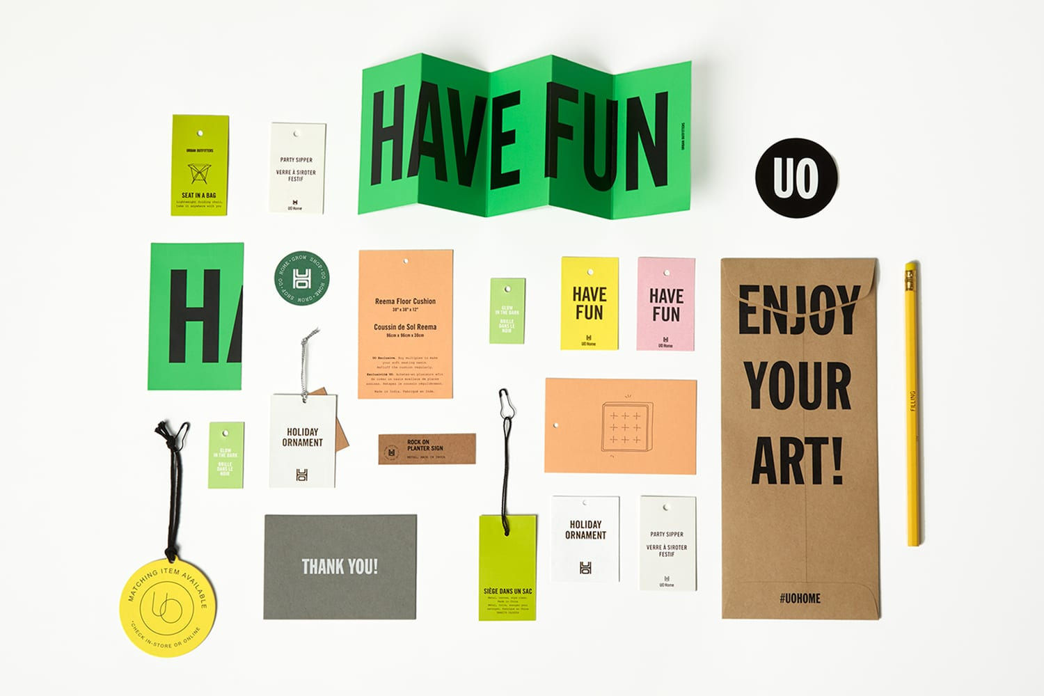 Urban Outfitters Home Branding