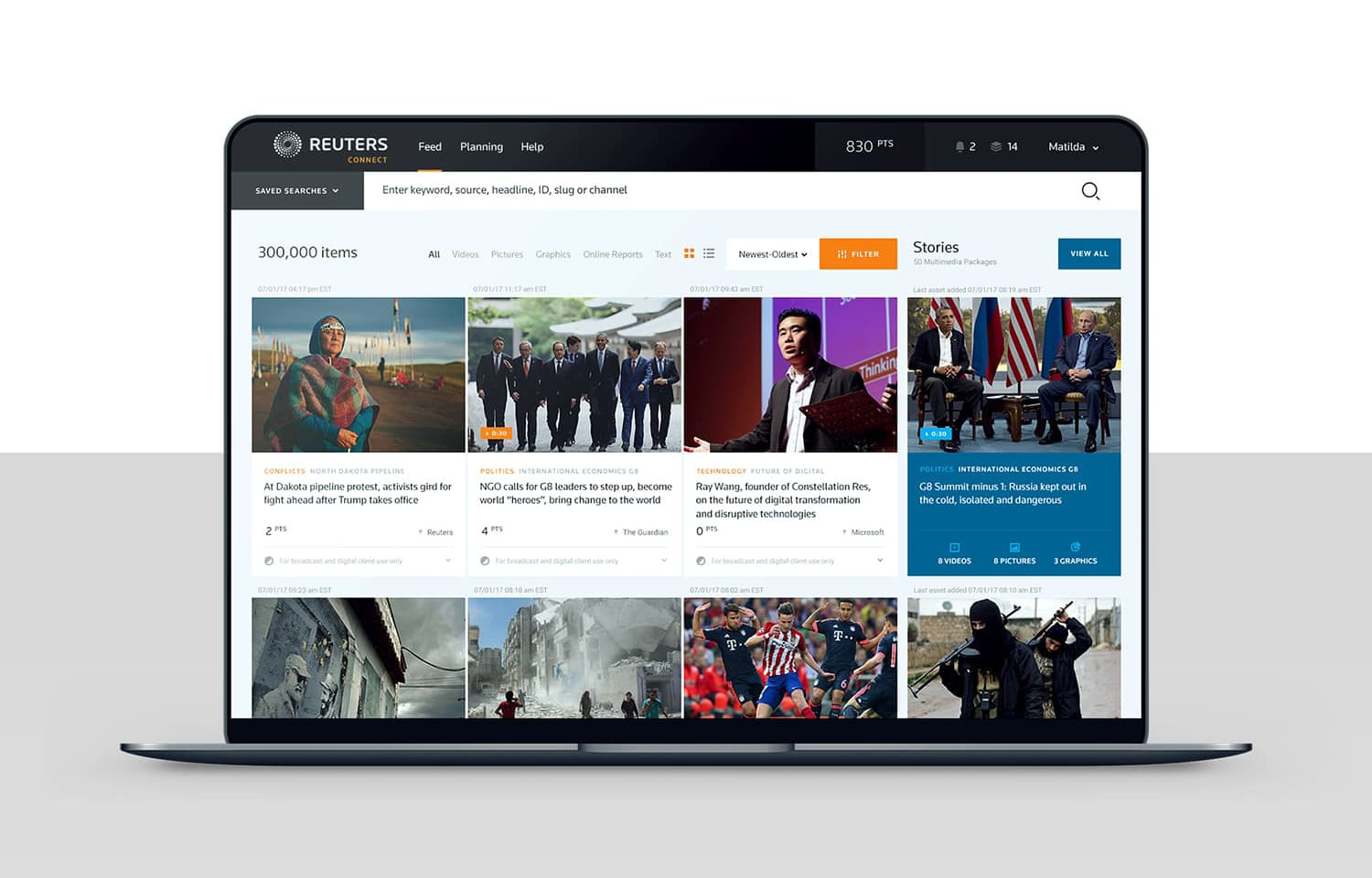 Reuters Connect - WNW