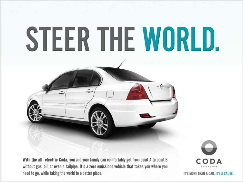 CODA ELECTRIC VEHICLES