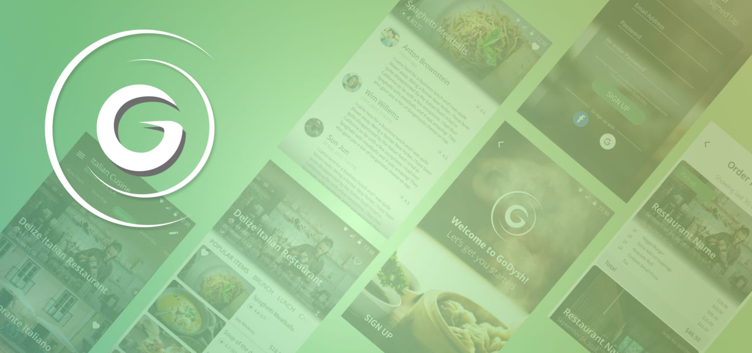 Reinventing the online food ordering experience at GoDysh, Inc.,