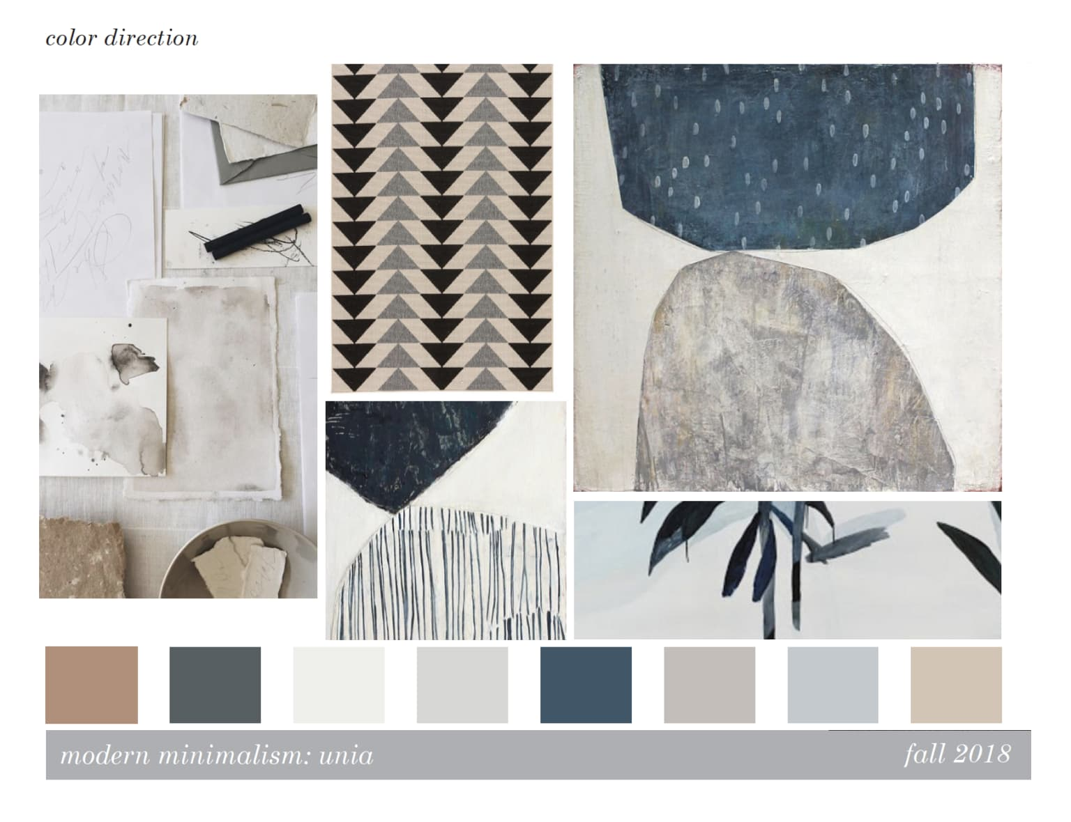 Color and General Concept Design - Soft Goods