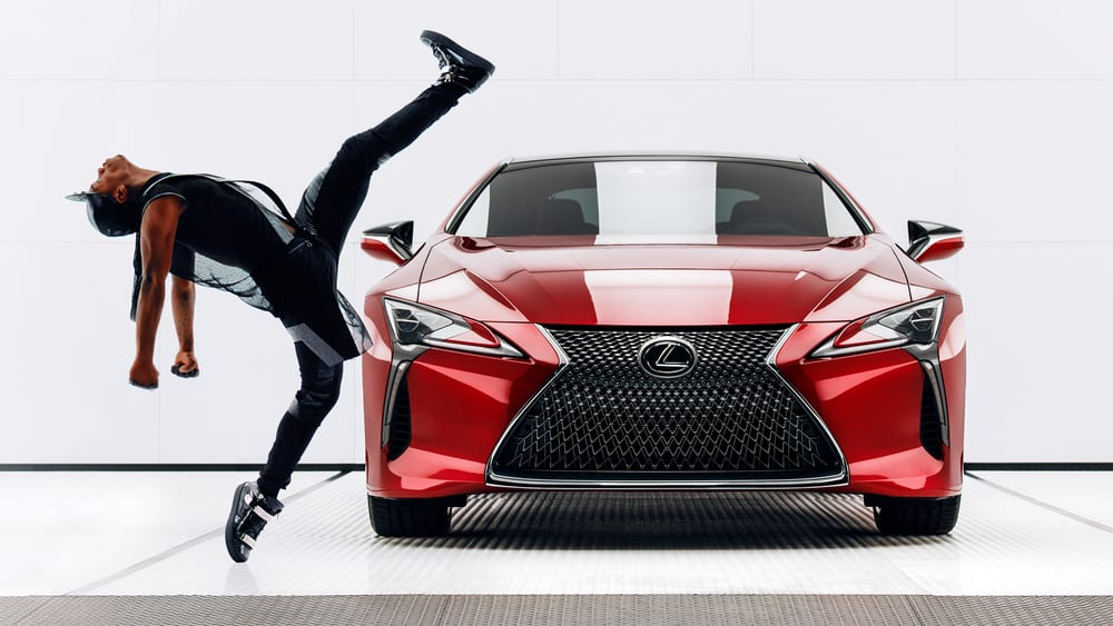 Lexus LC Launch: Man & Machine - Super Bowl