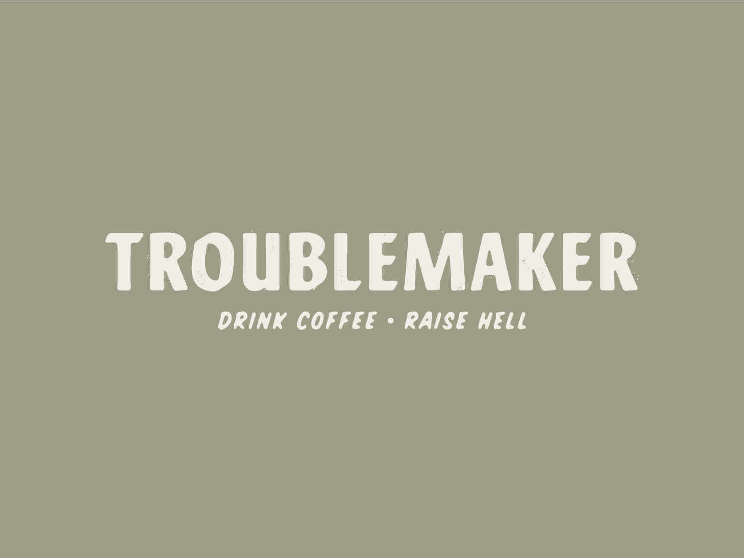Troublemaker Coffee