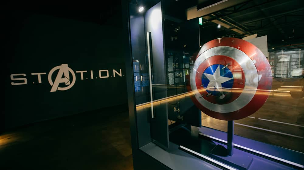 Marvel Avengers S.T.A.T.I.O.N Interactive Exhibit