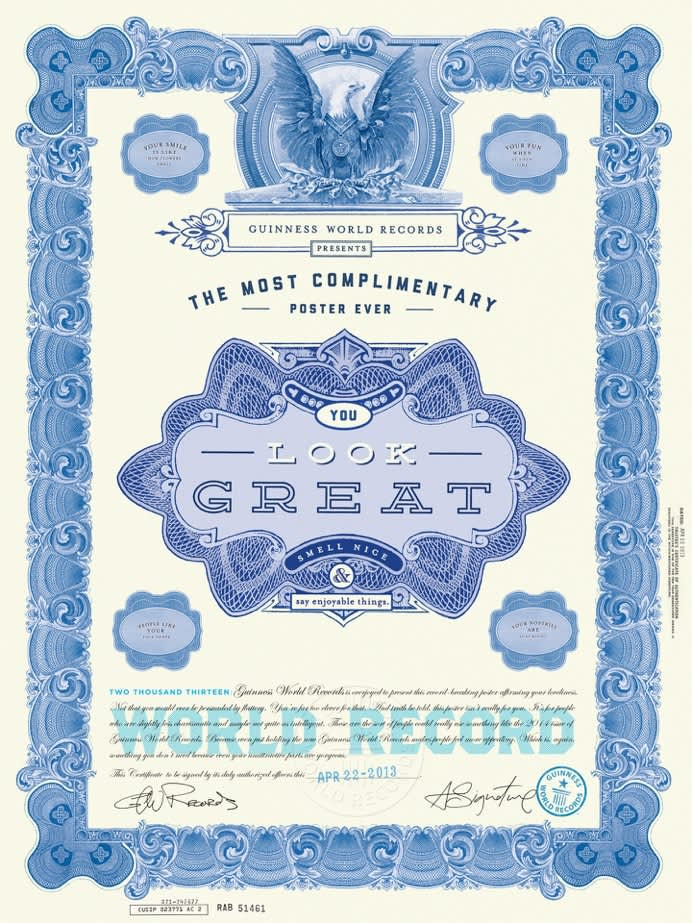 Guinness Book of World Records - The campaign that broke all the records