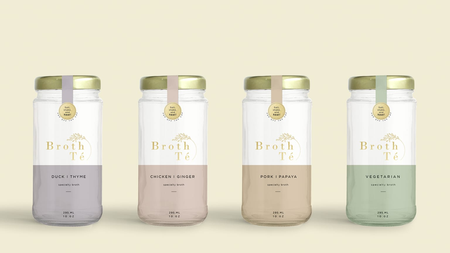 Packaging Design for Broth Té
