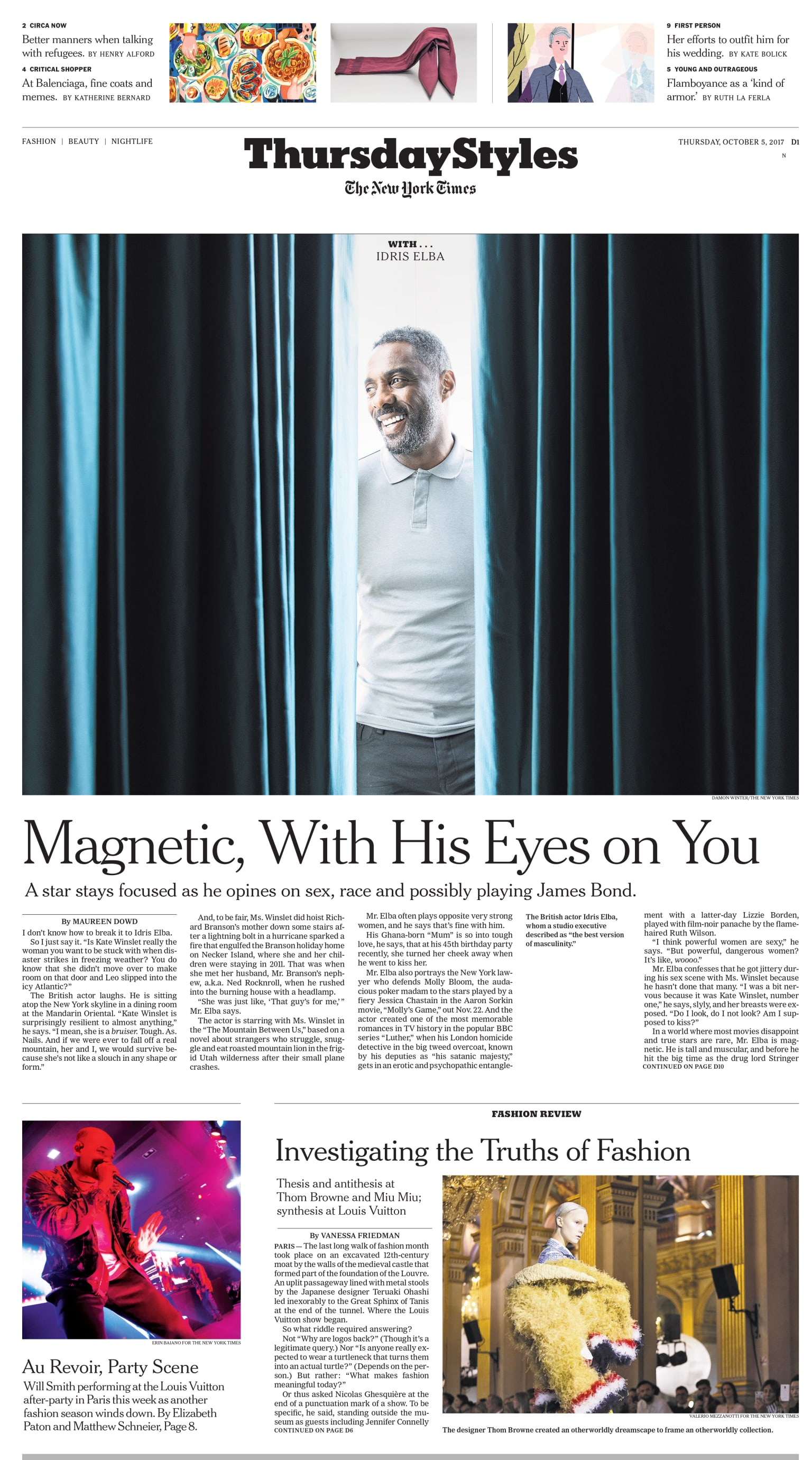 New York Times - Styles Front