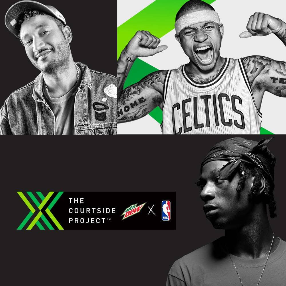 DEW x NBA Courtside Project